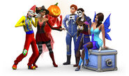 TS4 TRICKorTREAT HERO
