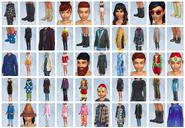 Sims4 Y Las Cuatro Estaciones CAS1
