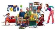 The Sims 4 Parenthood Render 01
