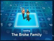 Loading screen of Broke family