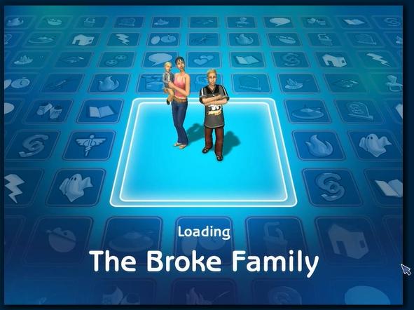 Broke family