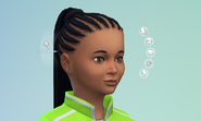 TS4 Patch 105 hair update 2