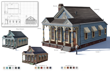 Early Willow Creek Architecture Concept 1