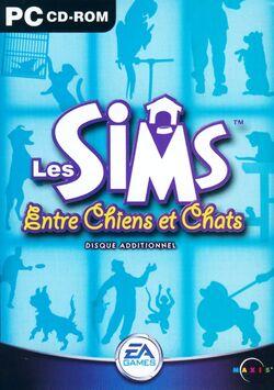 Jaquette Les Sims Entre Chiens et Chats.jpg