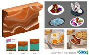 Les Sims 4 Au restaurant Concept art 01