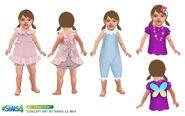 Sims 4 Infantes Arte Conceptual 4