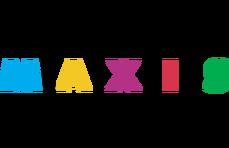 Maxis logo 1992-2012