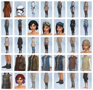 Sims 4 Viaje a Batuu CAS 1