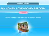 Lovey-Dovey Balcony