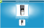 Garage Washing Machine