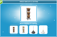Bread Displays & Lighting