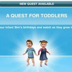 A Quest for Toddlers
