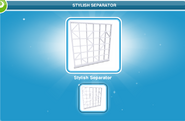 Stylish Separator