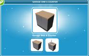 Garage Sink & Counter