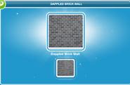 Dappled Brick Wall