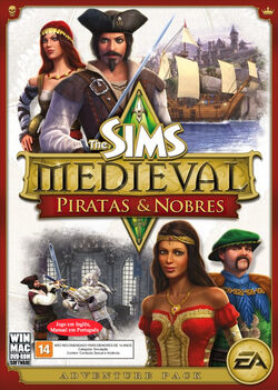 Capa The Sims Medieval Piratas e Nobres.jpg