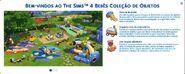 The Sims 4 Bebês (Mensagem de Boas Vindas)