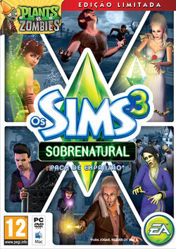 Packshot Os Sims 3 Sobrenatural.jpg