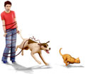 Artwork The Sims 3 Pets 10