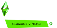 The Sims 4 - Glamour Vintage (Logo)