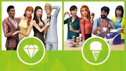 The Sims 4 Luxury Party Stuff and Cool Kitchen Stuff Xbox and PS4