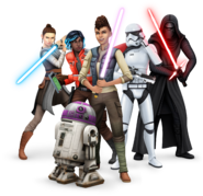 The Sims 4 Star Wars - Jornada para Batuu (Render 1)