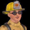 Carissa Parrott bombeira