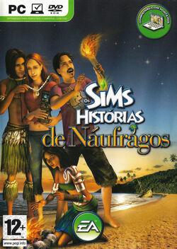 Capa Os Sims Histórias de Náufragos.jpg