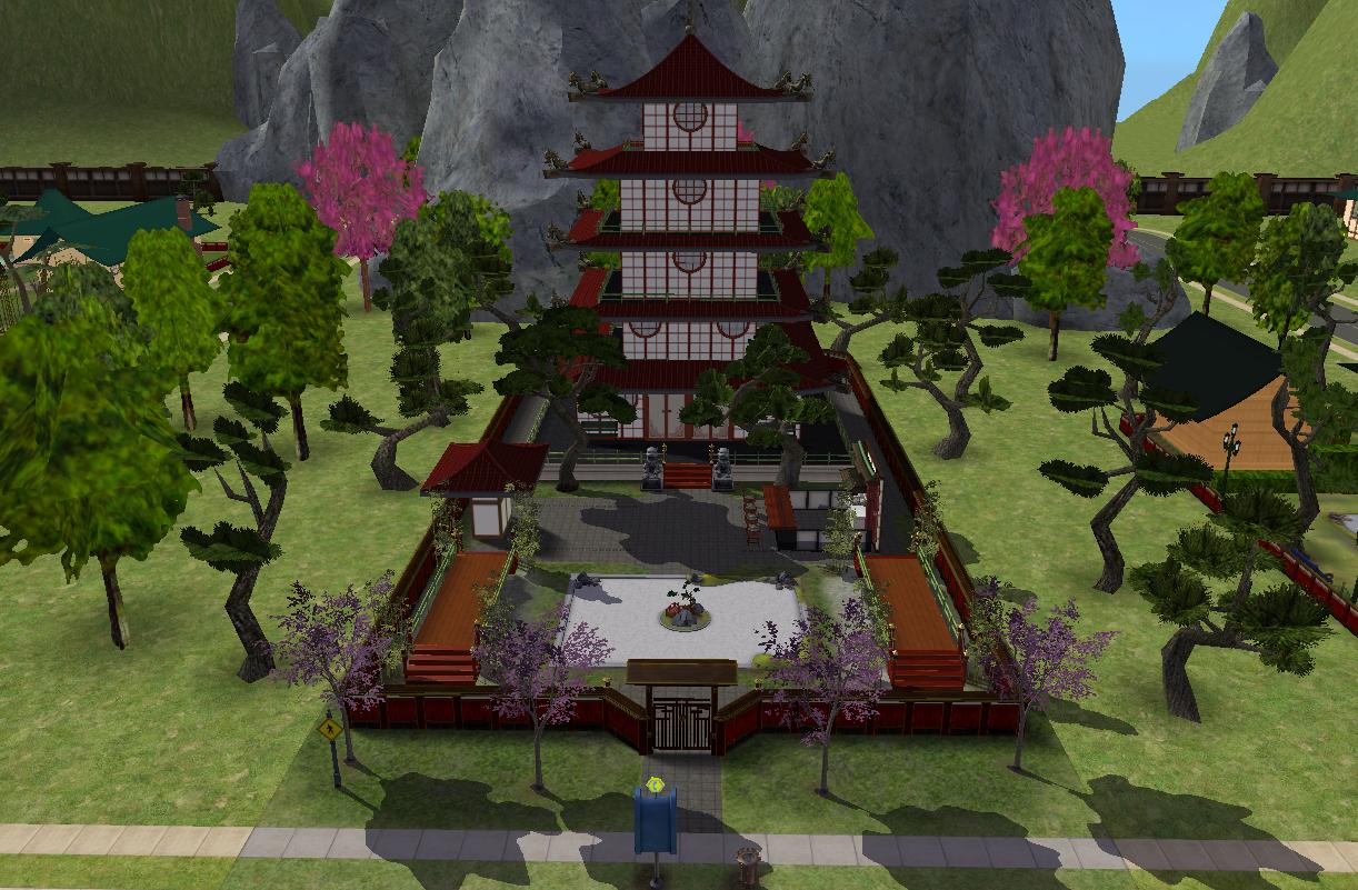 Pagoda e Mercado de Takemizu