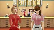 A Usurpadora The Sims 4 Paola prepara Paulina