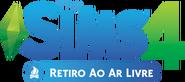 Logo The Sims 4 Retiro ao Ar Livre (Primeira Versão)