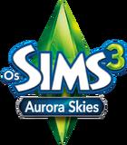 Logo Os Sims 3 Aurora Skies.png