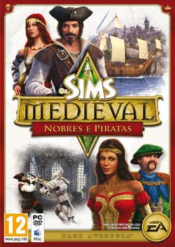 Capa Os Sims Medieval Nobres e Piratas.png