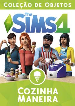 Capa The Sims 4 Cozinha Maneira (Primeira Versão).png