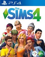 Capa The Sims 4 PlayStation 4 (Primeira Versão)