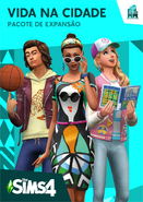 Capa The Sims 4 Vida na Cidade