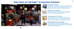 The Sims 4 Escapada Gourmet Boas Vindas