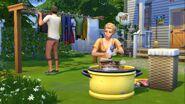 The Sims 4 - Dia de Lavar as Roupas (1)