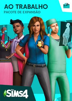 Capa The Sims 4 Ao Trabalho.png