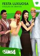 The Sims 4 Festa Luxuosa Capa