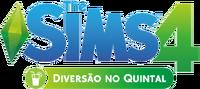 Logo The Sims 4 Diversão no Quintal (Primeira Versão)