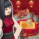 Tema - Ano Novo Chinês - The Sims Social