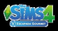 Logo The Sims 4 Escapada Gourmet (Primeira Versão)