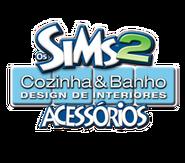 Logo Os Sims 2 Cozinha & Banho Design de Interiores