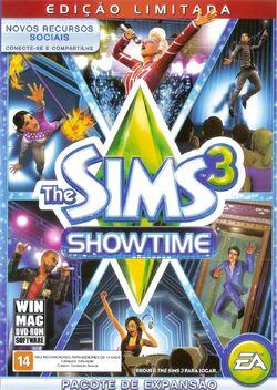 Packshot The Sims 3 Showtime.jpg