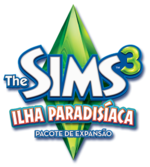 Logo The Sims 3 Ilha Paradisíaca.png