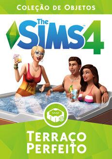 Capa The Sims 4 Terraço Perfeito (Primeira Versão).jpg