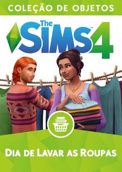 Capa The Sims 4 Dia de Lavar as Roupas (Primeira Versão).png