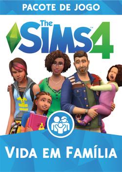 Capa The Sims 4 Vida em Família (Primeira Versão).png