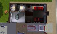 Corpo de Bombeiros Comunitário, primeiro andar